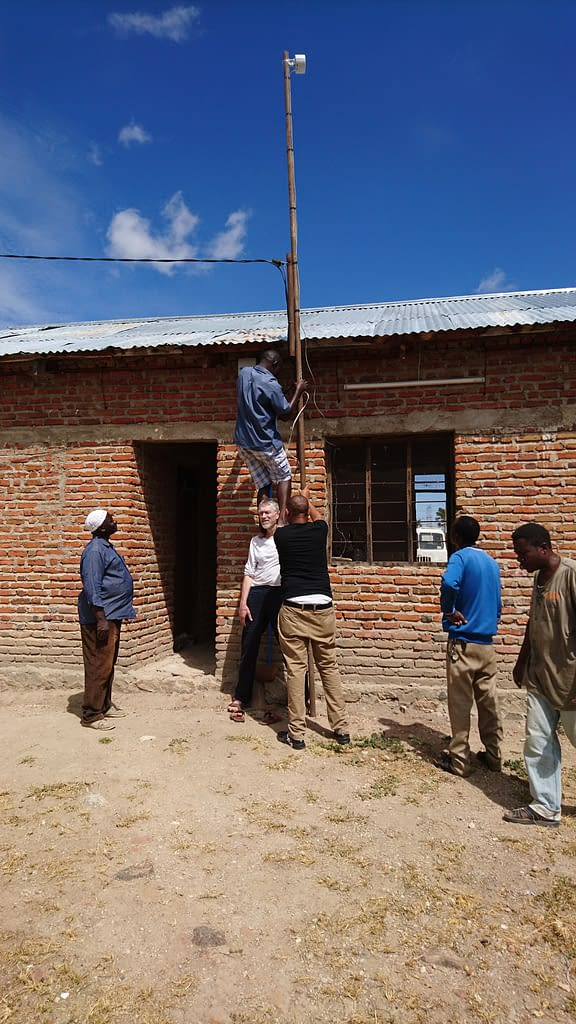 Building Information Spot in Izazi